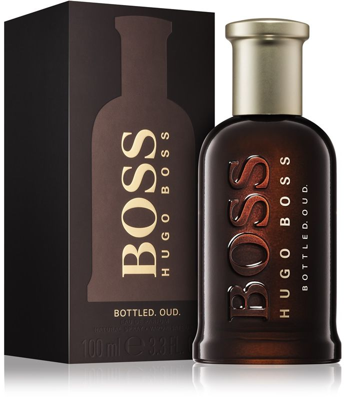 Boss Bottled Oud by Hugo Boss for Men - Eau de Parfum, 100ml