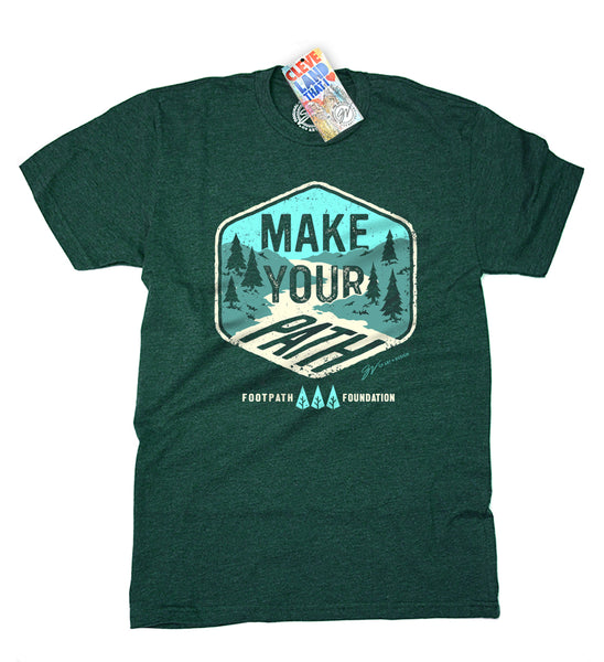 "Footpath Foundation ""Make Your Own Path"" T Shirt"