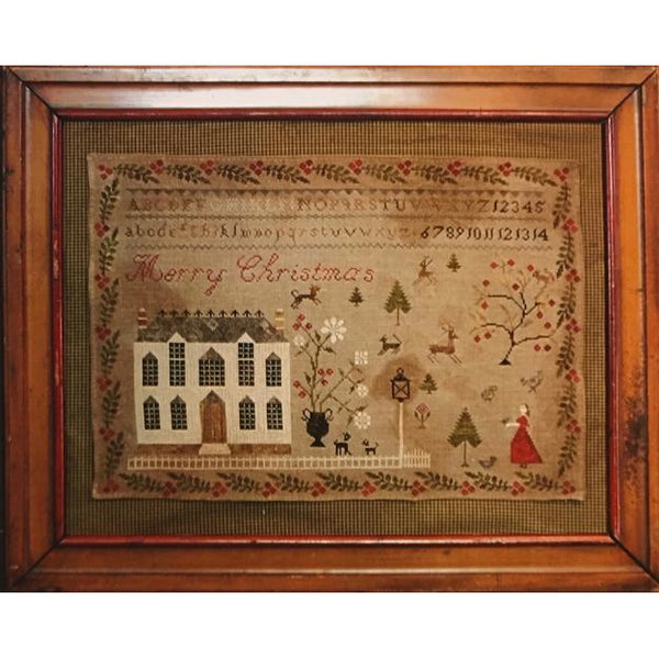 Christmas at Hollyberry Farm Cross Stitch Pattern