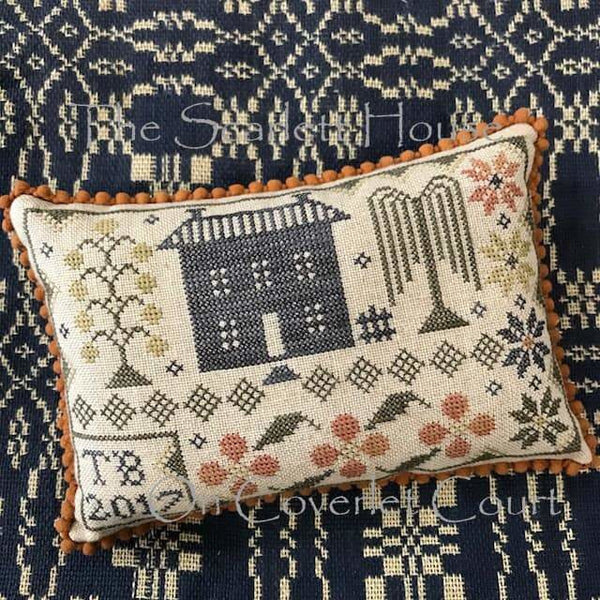 On Coverlet Court Cross Stitch Pattern