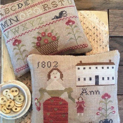 Ann's Sampler Pinkeeps Cross Stitch Pattern