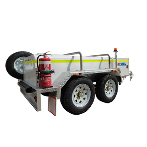 FUEL TRAILER iFUEL® 1250L Self Bunded Low Profile Galvanised Dual Axle