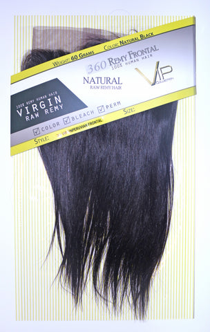 360 Lace Peruvian Virgin Human Hair frontal - beautygiantusa.com