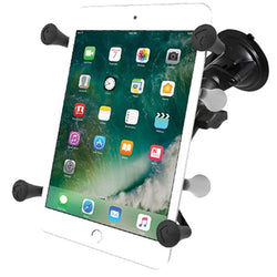 "RAM-B-166-UN8 - RAM Twist-Lock™ Suction Cup Mount with Universal X-Grip® Cradle for 7""-8"" Tablets -image1"