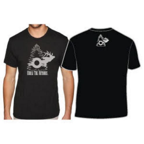Whale Tail Outdoors T-Shirt - White Logo