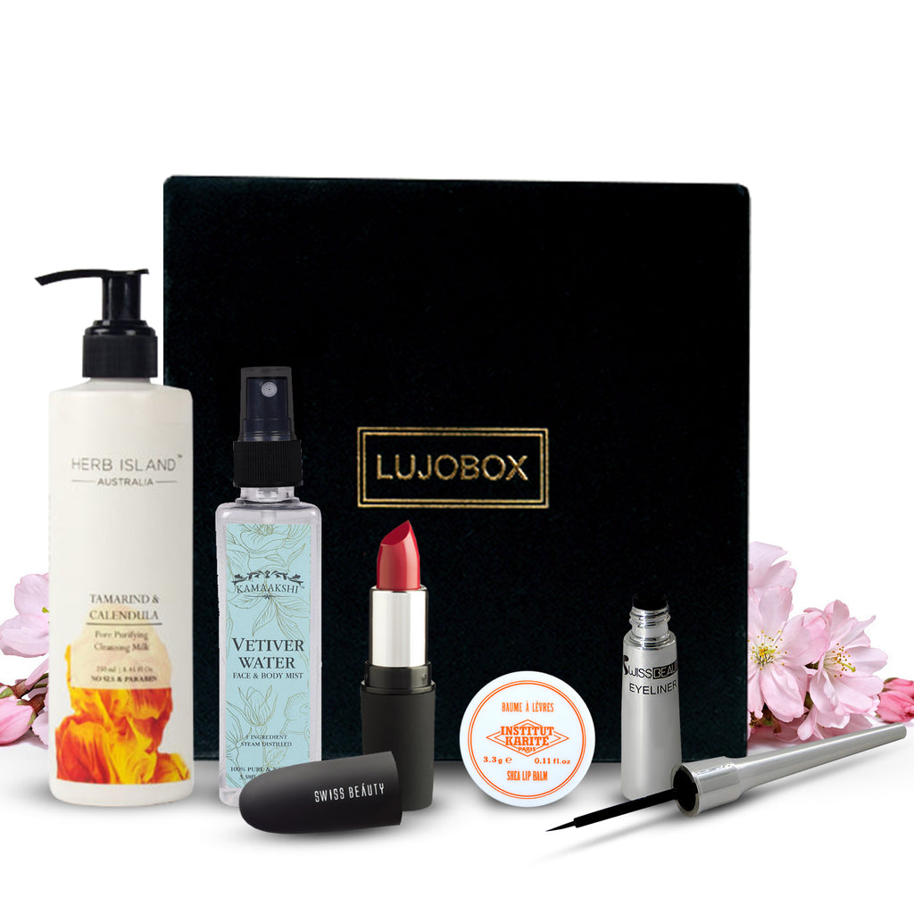 LUJOBOX APRIL EDITION - Lujo Box Beauty Box Subscription