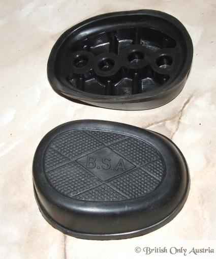 BSA Kneegrip Rubbers / Pair oval