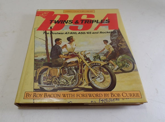 BSA Twins&Triples Book. Roy Bacon