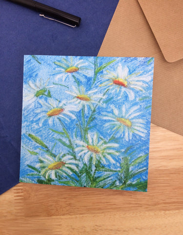 Daisy Greetings Card