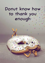 Donut Know How to Thank You Card