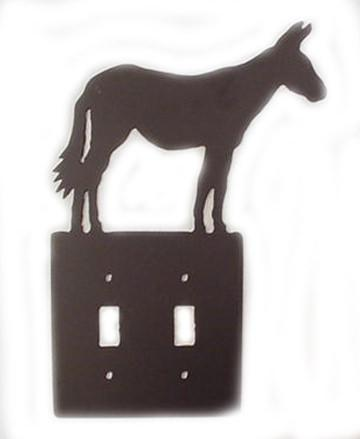 Metal Switchplate - Mule Double