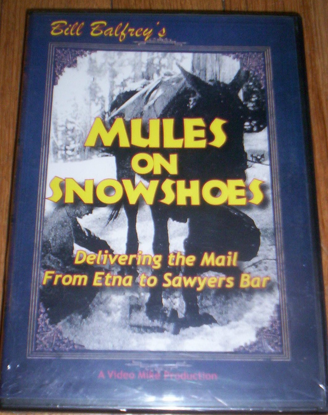 DVD - Mule on Snowshoes
