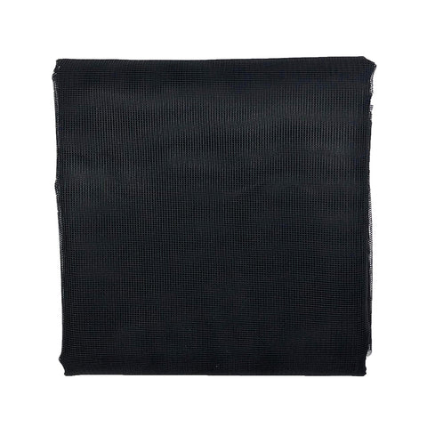 Heavy-Duty 12ft-Wide Porch & Patio Mosquito Netting - Black
