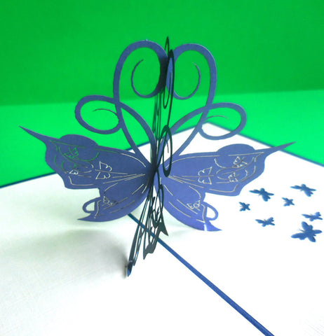 Butterfly 3D Pop Up Greeting Card 1