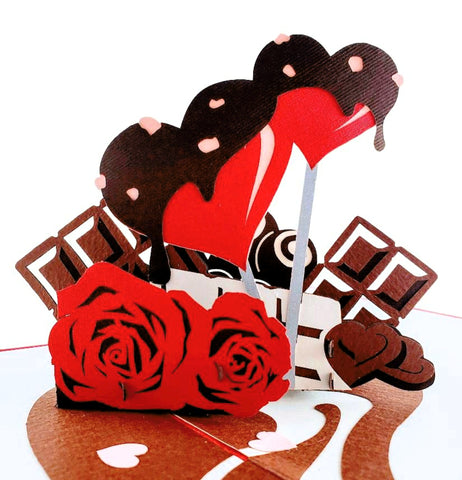 Full of Love Happy Valentine's Day 3D Pop Up Greeting Card 1