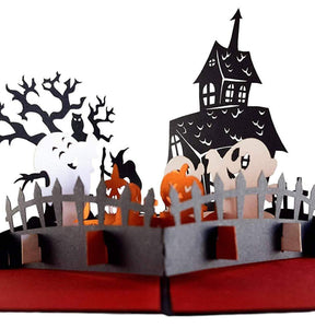 Trick or Treat 3D Pop Up Greeting Card 1
