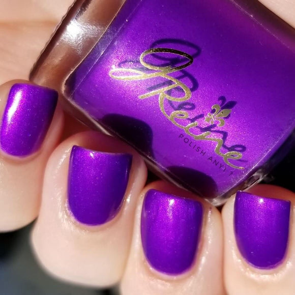 Zephyr - Purple Shimmer Nail Polish