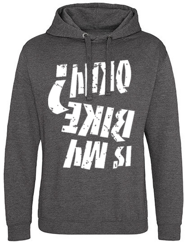 Is my bike okay Hoodie Ruhrpott-grey