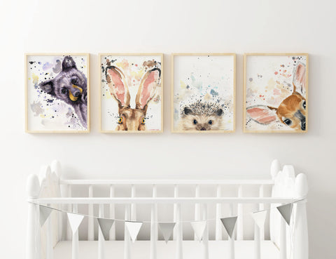 Nursery Decor - Woodland Nursery Prints