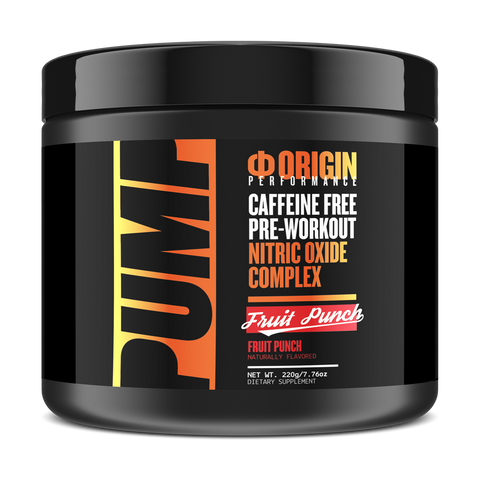 Image of Origin PUMP Caffeine Free Pre-Workout Nitric Oxide Complex - Origin Supps