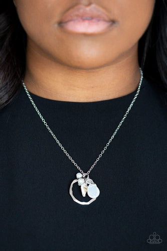 Coastal Couture-silver-Paparazzi necklace