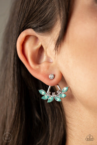 Forest Formal-green-Paparazzi earrings