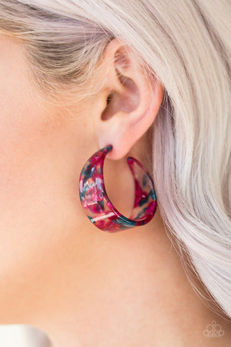 Havana Heat Wave-multi-Paparazzi earrings