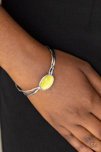 Lets Get Things GLOWING - yellow - Paparazzi bracelet