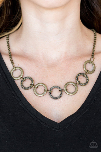 Modern Day Madonna-multi-Paparazzi necklace