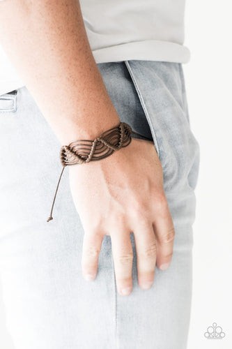 Rise to the Bait-brown-Paparazzi bracelet