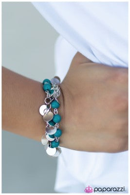 The Dream Team - Blue - Paparazzi bracelet