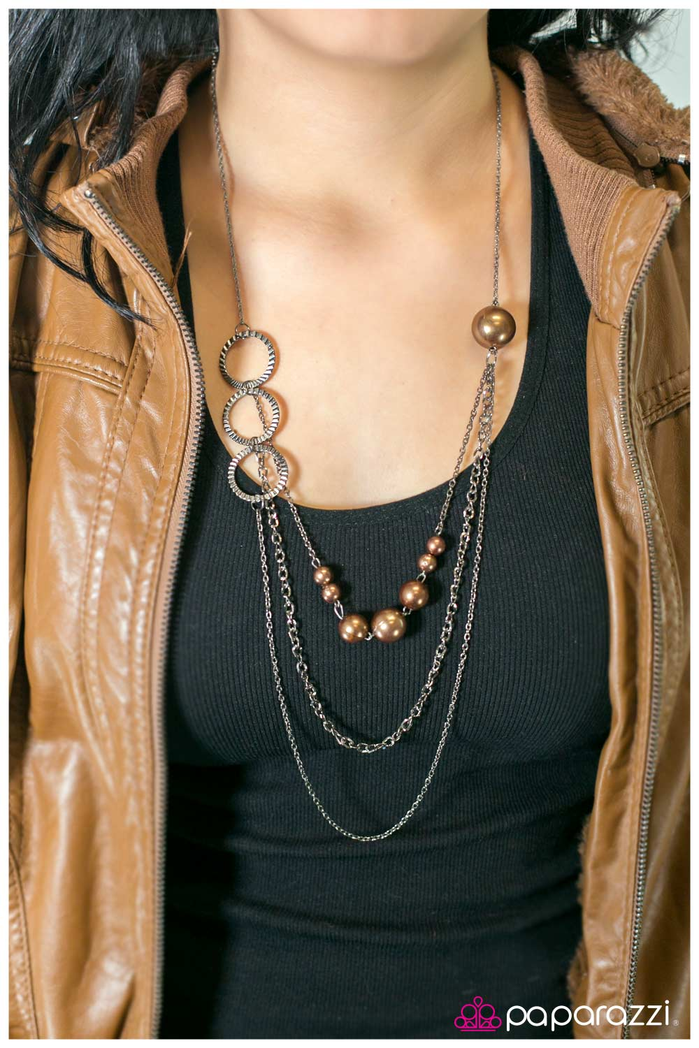 Your Crimping My Style - Paparazzi necklace