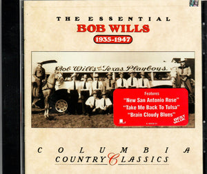 COLUMBIA COUNTRY CLASSICS 'The Essential Bob Willis' CK-48958