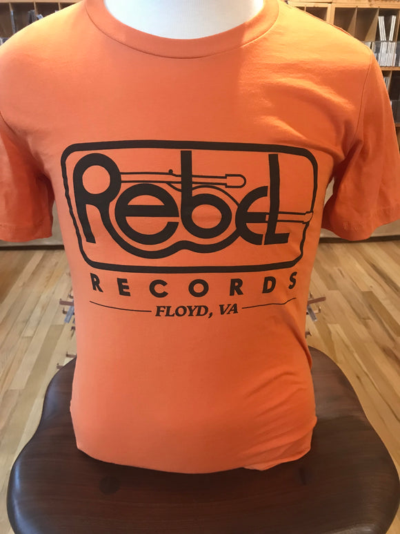 VINTAGE REBEL - T-SHIRT (ORANGE)