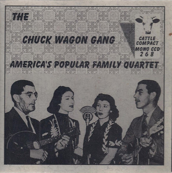 THE CHUCK WAGON GANG 'America's Popular Family' CCD-268