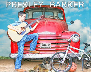 PRESLEY BARKER  'Just 10'    BARKER-2015-CD