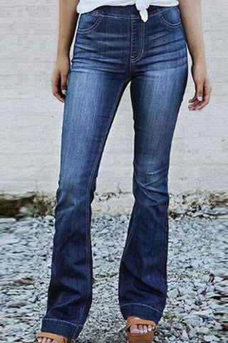 Cutout Snap Front  Ripped  Light Wash Whiskered Jeans
