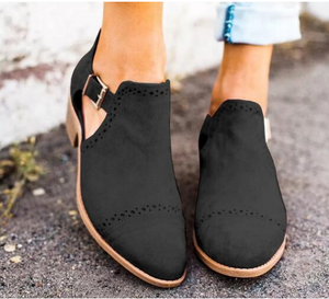 Fashion Pointed Toe Ankle Boots
