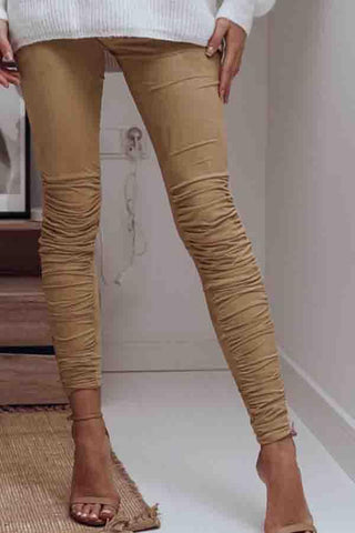 Long Basic Plain Jeans