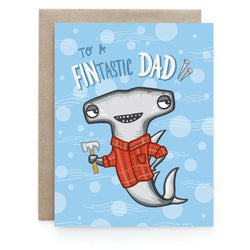 Art & Soul Creative Co - Card – Fintastic Dad Shark