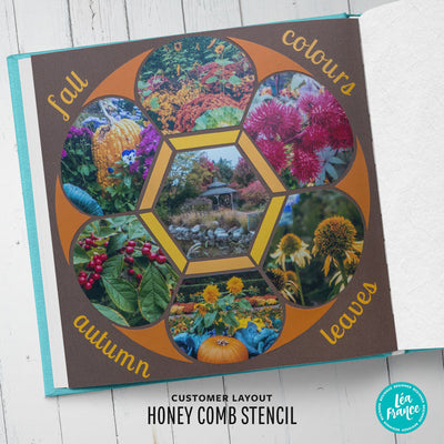 Honey Comb Stencil