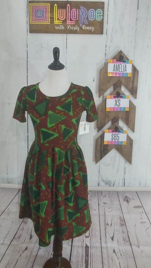 Ameila Dress - Triangles - XS