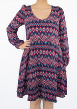 Aster Dress - Diamond Print - (XS)
