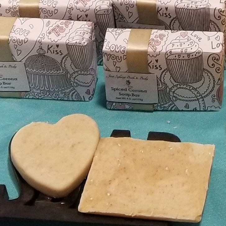Spiced Corona Soap Bar