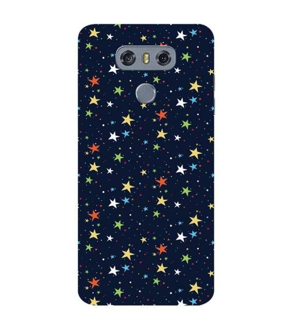 Colourful Stars Back Cover for LG G6