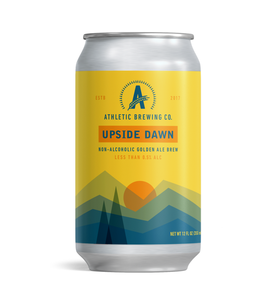 Upside Dawn Golden Ale (Non-Alcoholic) 6-Pack