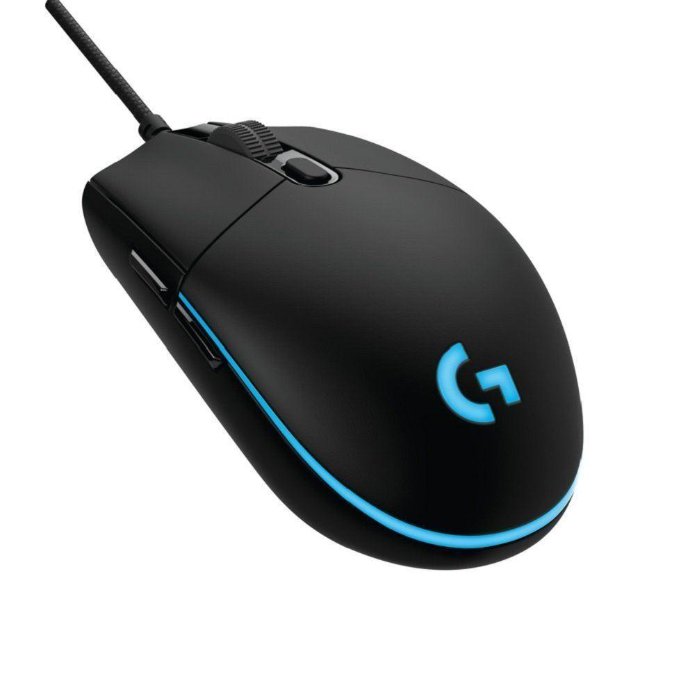Logitech G PRO Optical Gaming Mice 12000 DPI RGB 6 Programmable buttons