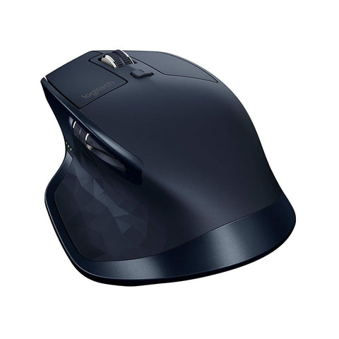 Logitech MX Master USB Wireless Bluetooth Mouse for Windows and Mac - Navy