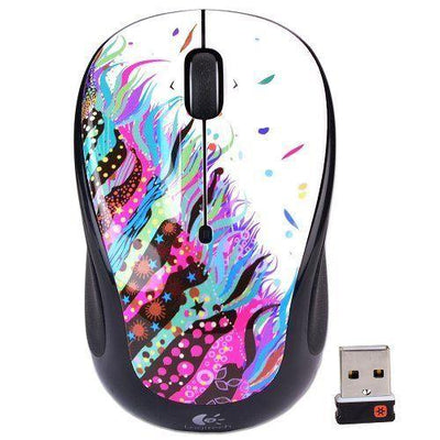 Logitech M325 - wireless optical mouse CELEBRATION BLACK