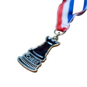 Rook Chess Medal - Available in Gold, Silver & Bronze - American Chess Equipment